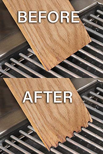 Wood Grill Scraper - Perfect BBQ Accessory for Cleaning Any Grill, Choose from 4 Styles and 3 Sizes