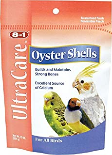 eCOTRITION Oyster Shells Bone Care for Birds, 10 Ounces (C212)