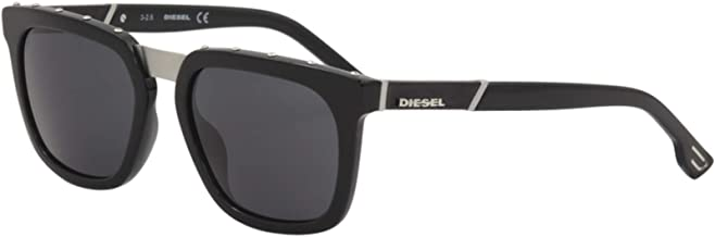 Diesel Plastic Frame Smoke Lens Men's Sunglasses DL02125401A