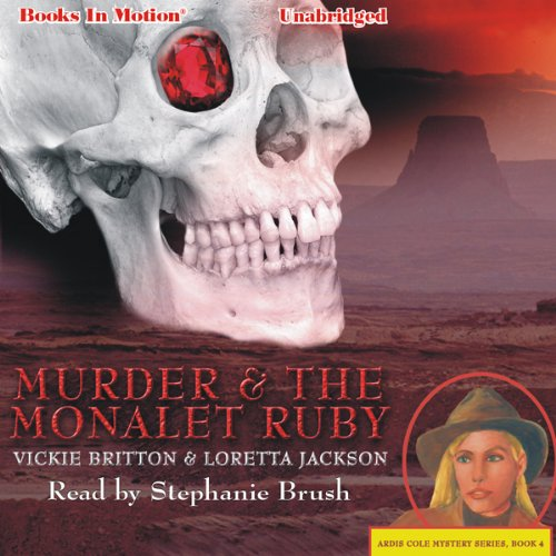 Murder and the Monalet Ruby audiobook cover art
