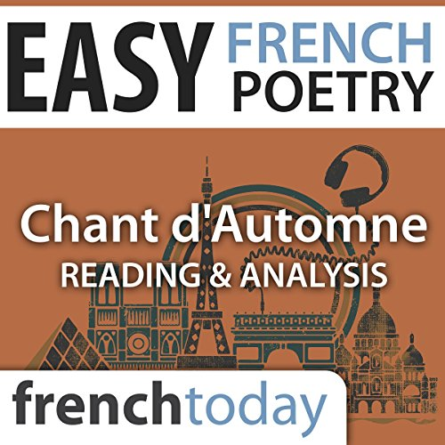 Couverture de Chant d'Automne (Easy French Poetry)