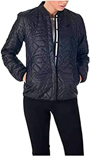 Womens Quilted Black Insulated Primaloft Jacket 854747 010
