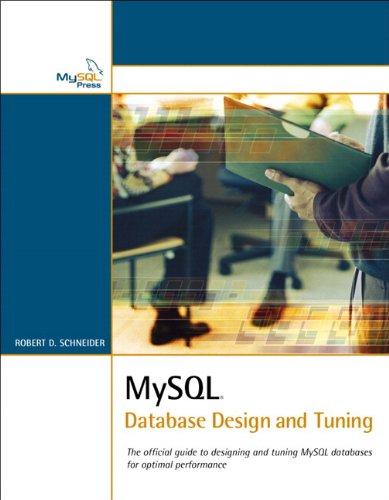 MySQL Database Design and Tuning (Developer's Library)