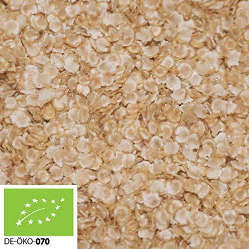 (16,99€/kg) 1000g Bio Quinoaflocken in stabilem Papiersack verpackt (Plastikfrei) | 1 kg | ✔ Großpackung ✔ ohne Zusätze | 100% Natur | hochwertiges Naturprodukt | STAYUNG - DE-ÖKO-070