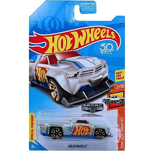 Hot-Wheels Solid Muscle zamac 2/10 HW Hot Trucks Long Card