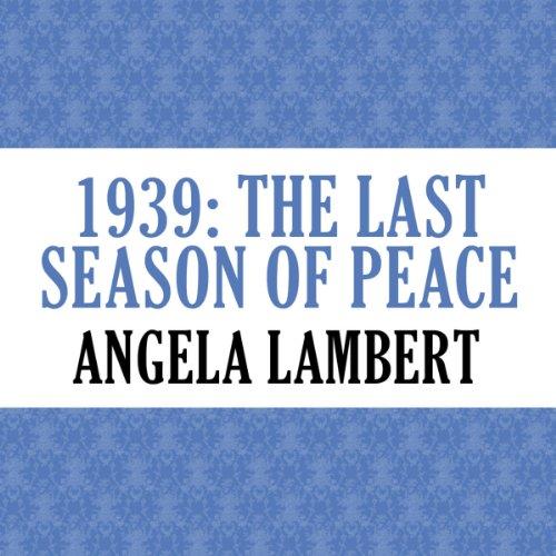 1939: The Last Season of Peace cover art