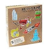 Re Cycle Me DEFG1070 - Juego de Manualidades para 5 Modelos, Juego de Manualidades para 5 proyectos artísticos, Juego Creativo para niños a Partir de 4 años