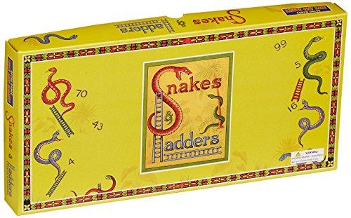 House of Marbles Serpents et échelles Jeu rétro Traditionnel