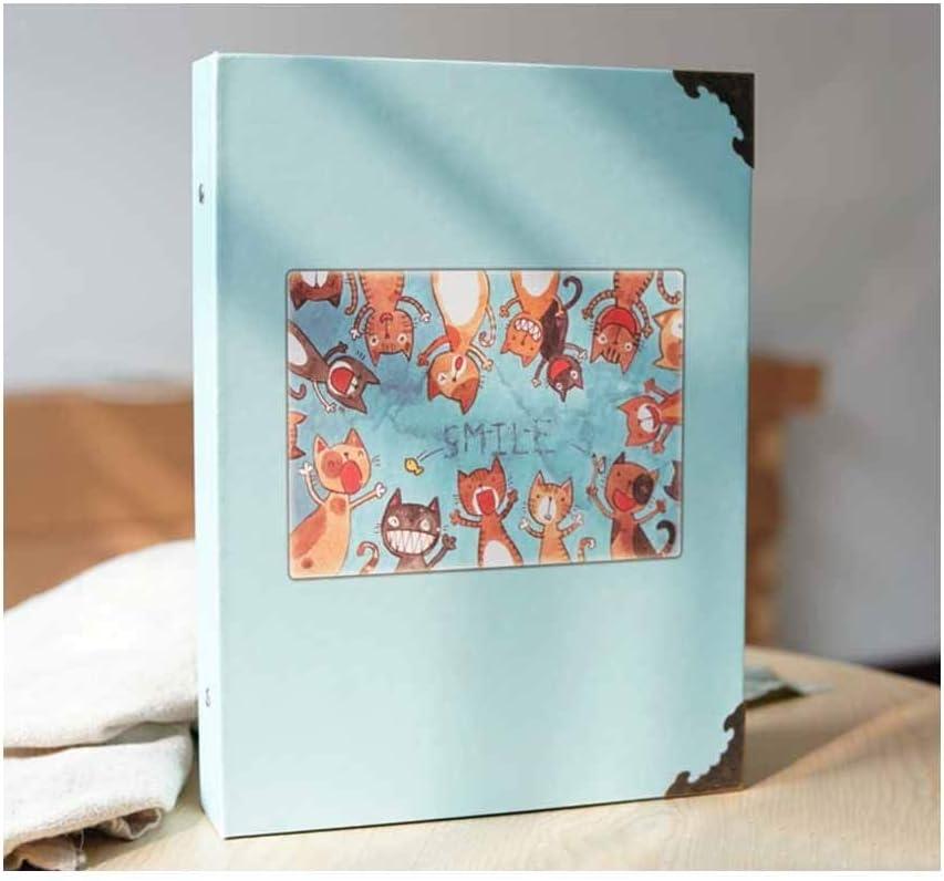 ZTMN Atlanta Mall Photo Album Fashion Max 84% OFF Paste Grow Family Traditional S
