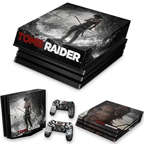 Capa Anti Poeira e Skin para PS4 Pro - Tomb Raider