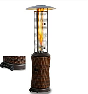 Propane Standing Patio Heater Outdoor, Hypoxia Protection, Dumping Protection, Space Heater for Patio Propane