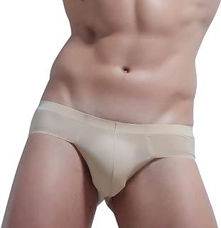 HaiDean Under Warming Shorts Men Underwear Casual Modern Shorts Soft Breathable Briefs Comfortable Soft Solid Color Slip P...