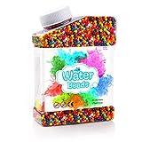 AmzKoi Wasserperlen, 50,000 Orbeez Wasserperlen für Kinder, Gelperlen für Kinder Ungiftig, Wasserkugeln Wasserperlen Spielzeug, Aqualinos Wassergel Kugeln Deko für Pflanzen Vase Füllstoff