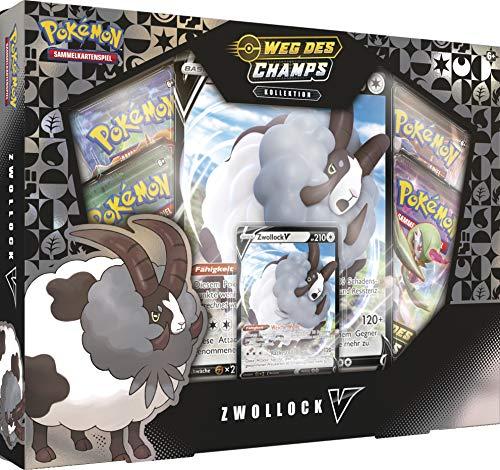 Pokémon International 45235 PKM SWSH03.5 Zwollock-V Box DE