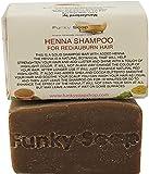 Henna Solid Shampoo Bar For Red/Auburn/Chestnut Shampoo Bar, Natural & Handmade, Approx 120g