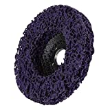 Para Dremel Rotary Herramienta 125mmx22mm 5 pulgadas de pulido rueda de disco Herramienta for Angle Grinder abrasivo 3pcs / set (Color : Purple)