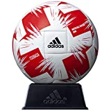 adidas(アディダス) サッカーボール ツバサ Jリーグ ルヴァンカップ ミニボール ホワイト×レッド AFM112LC