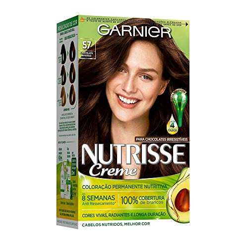 Coloração Nutrisse Creme 57, Chocolate Amargo, Garnier
