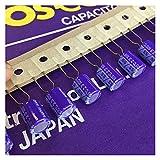 zhenxin Condensadores 100pcs 220uf 6.3v 8x10mm 6.3v220 UF 6SS220M Condensador sólido
