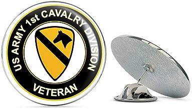 U.S. Army Veteran 1st Cavalry Division Metal 0.75
