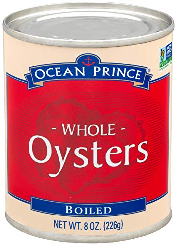 Ocean Prince Boiled Oysters, 8-Ounce Cans (Pack of...
