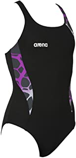 Arena Girl's Carbonite One Piece Swimsuit