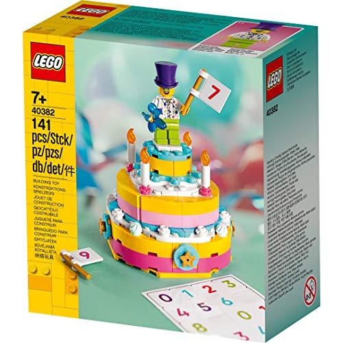 Unbekannt Lego Geburtstagsset 40382 Iconic Geburtstagstorte Birthday