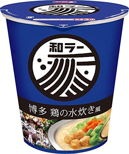 大山即席斎選出_第7位:サンヨー食品『サッポロ一番和ラー博多鶏の水炊き風』