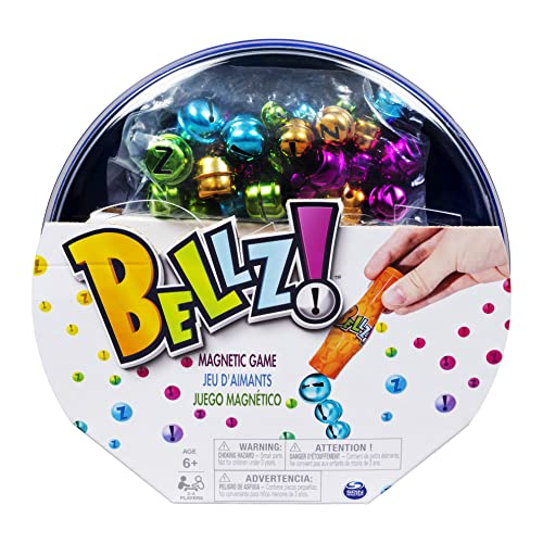 Bellz, Family Game with Magnetic Wand and Colorful Bells, for Kids aged 6 and Up