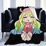 RJ5nrusfwtba Miss Kobayashi's Dragon Maid Throw Blanket Ultra Soft Micro Fleece Blanket,Light Weight Warm Bed Blanket