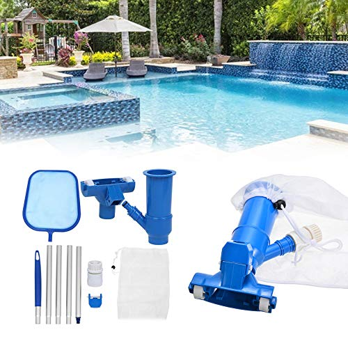 Dyna-Living Swimming Pool Vacuum Cleaner & Pool Skimmer Net Set with...