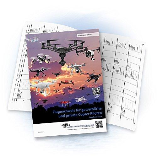 DROHNENSTORE24.DE ...DER DROHNEN-GURU DS24 Flugnachweisheft Flugbuch für Profi, gewerbliche und Private Copterpiloten