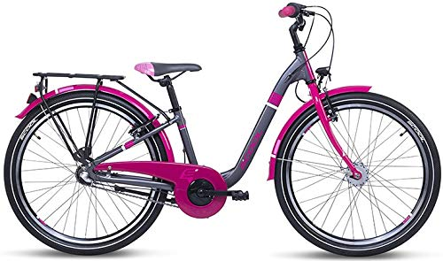 S'Cool Chix Alloy 24R 3S Kinder City Bike (24