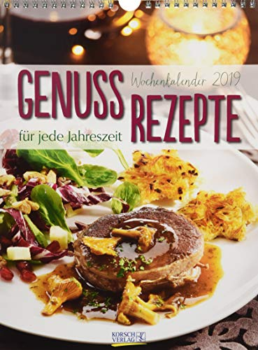 Küchenkalender Wochenkalender 244519 2019: Foto-Wochenkalender
