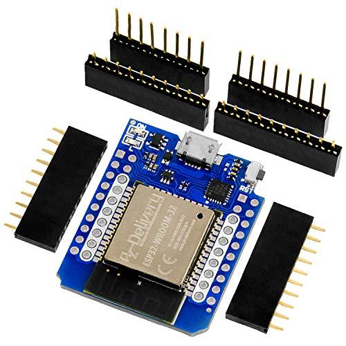 AZDelivery ESP32 D1 Mini NodeMCU WiFi Módulo + Bluetooth Placa de Desarrollo de Internet de las cosas compatible con Arduino con E-Book incluido!