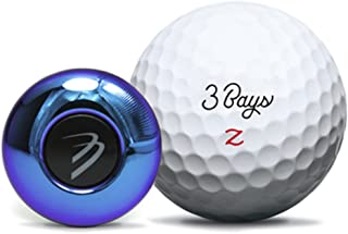 3BaysGSA Zone Golf Swing Analyzer with 3D Playback - Auto Video Recording - Sync with Apple and Android Devices
