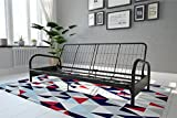 Best Futon Frames - DHP Vermont Metal Futon Frame, Classic Design, Full Review