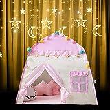 Pictury Castle Kinder Spielzelt, Mädchen Hexagon Prinzessin Schloss Haus Palast Zelte Kinder...