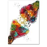 Anatomie Kunst Menschliches Herz Gehirn Lunge Wandkunst