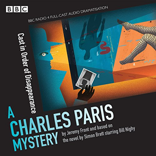Charles Paris: Cast in Order of Disappearance audiobook cover art