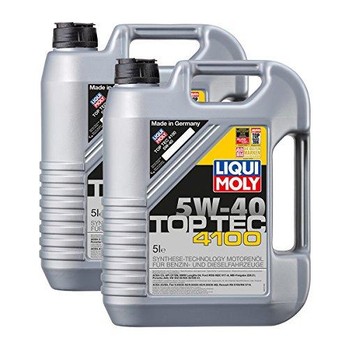 2x LIQUI MOLY 3701 Top Tec 4100 5W-40 Motoröl