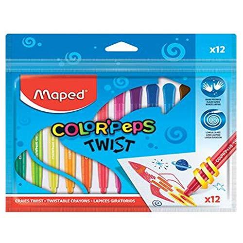 Giz, Maped, Color Peps Twist, 860612, 12 Cores