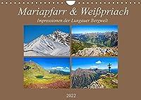 Mariapfarr & Weisspriach (Wandkalender 2022 DIN A4 quer): Impressionen von den Bergen in Mariapfarr und Weisspriach (Monatskalender, 14 Seiten )