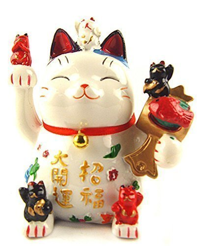 Betterdecor Feng Shui Maneki Neko Lucky Cat Coin Bank...