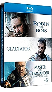 Russell Crowe-3 Grands Films : Robin des Bois + Gladiator + Master and Commander [Pack Collector boîtier SteelBook] (B0057YFY78)   Amazon price tracker / tracking, Amazon price history charts, Amazon price watches, Amazon price drop alerts