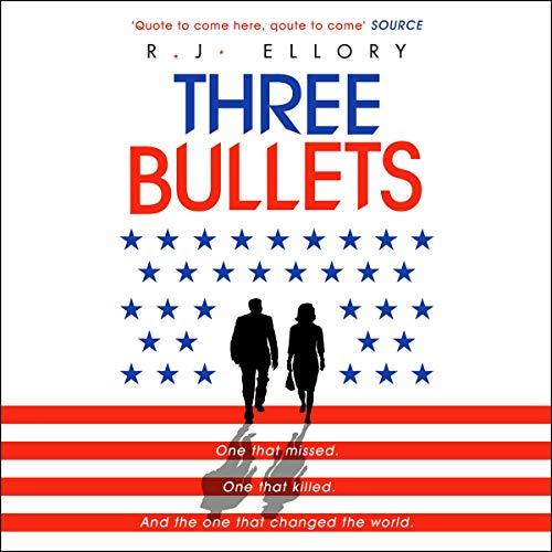 Three Bullets audiobook cover art