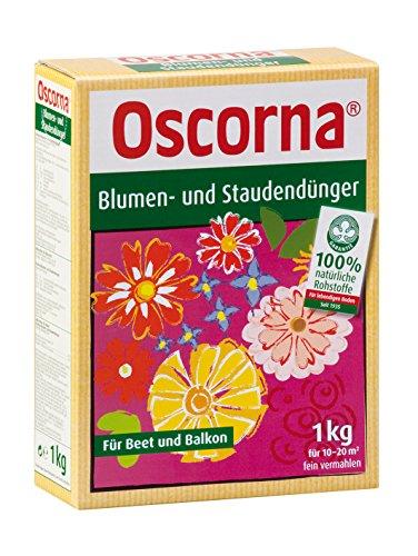 Oscorna Accélérateur de Fleurs et arbustes Engrais 1 kg Tub