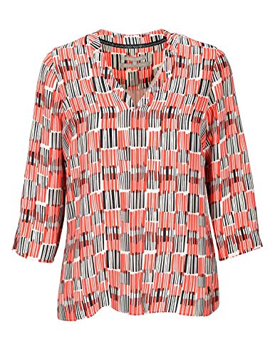 BASEFIELD Bluse AOP-S