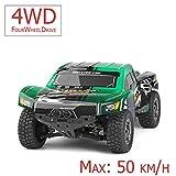 FM 12403| Short Course 1:12 50 km/h schnell! Grün mit Allrad 4WD riesig...