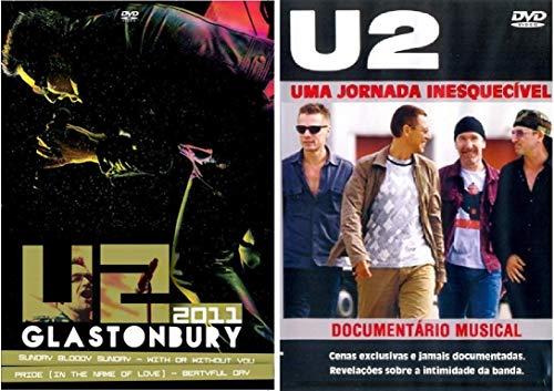 DVD U2 Glastonbury 2011 + DVD U2 Uma Jornada Inesquecível